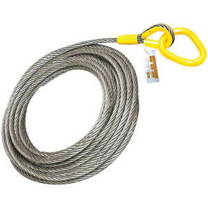 Roll Off Cable For Container Truck 6x26 Steel Core 1 X 82