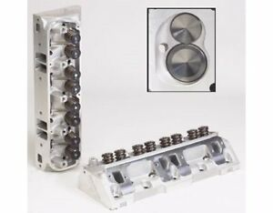 Two 2 Edelbrock Performer Rpm Cylinder Head 60779