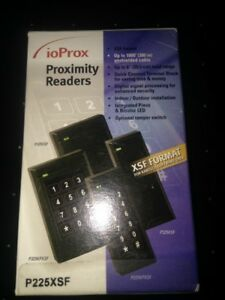 New Kantech P225xsf Ioprox Proximity Reader 1 Total