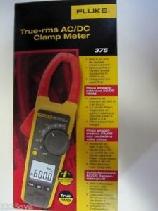 Fluke 375 True Rms Ac dc Clamp Meter new In Box Msrp 375
