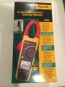 Fluke 376 True Rms Ac dc Clamp Meter new In Box Msrp 425