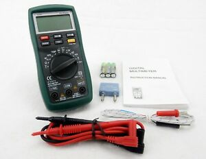 Cat Iii Autoranging Digital Multimeter With Temperature Probe Morris 57072