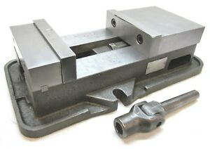 Kurt Anglock 8 Milling Machine Vise W Jaws Handle d80
