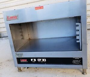 Lang Mm24 Meltmaster Plus Ii Commercial Broiler Cheese Melter Finishing Oven