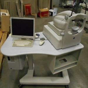 Zeiss Stratus Oct 3000 Tomographer W Computer keyboard mouse power Table