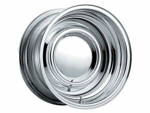 Cragar Chrome Smoothie Wheel 15 X10 6x5 5 Bc Set Of 2