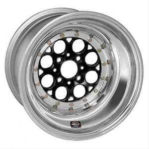 Weld Racing Magnum Import Drag Black Anodized Wheel 13 x8 4x100mm Bc