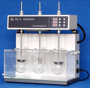 Lab Dissolution Tester Tablet Capsule Dissolution Tester Three Vessel Rc 3 M