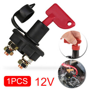 Red 12v Battery Isolator Disconnect Cut Off Power Kill Switch For Car Truck Boat