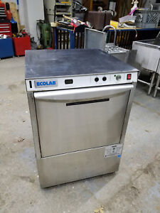 Nice Ecolab U lt 1 Undercounter Bar Restaurant Glass Dishwasher