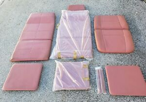 Midmark Ritter Exam Table chair Replacement Cushion Urethane Foam Pad Set Lot