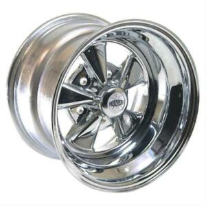 Cragar 08 61 S S Super Sport Chrome Wheel 15 X10 5x5 Bc Set Of 2