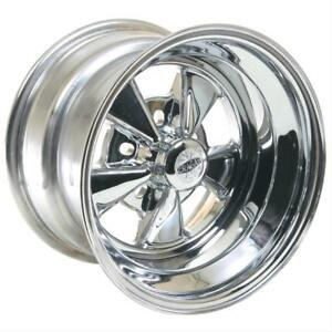 Cragar 08 61 S S Super Sport Chrome Wheel 15 X10 5x4 75 Bc Set Of 2