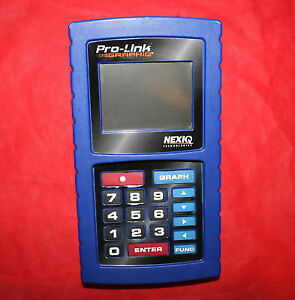 Nexiq Pro Link Graphiq Body Unit Diesel Diagnostic Scan Tool 104004 Prolink Plus