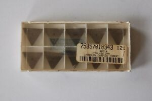 Insert Tpg432 Seco Grade 370 Carbide New 10 Pcs