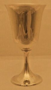 A Sterling Silver Goblet 272 Pattern By Gorham