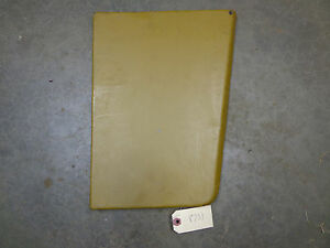John Deere 1010 Right Front Panel Nos