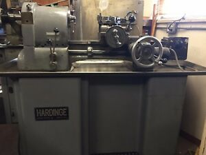 Hardinge Hct Chucker Under Power And Runs Great