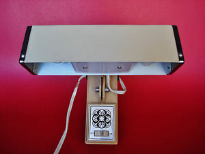 Working Vintage Mid Century Modern Cosmo Hanging Wall Lamp
