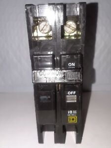 Square D Qou2100 2 Pole 100 Amp 120 240v Type Qou Circuit Breaker