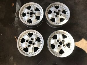 14 Mugen Mr5 Wheels 4x100 Rare Jdm Volk Rays Ssr Work Ef8 Sir Ef9 Crx