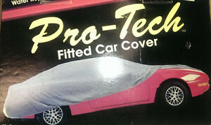 Pro Tech Medium Fitted Car Cover 25557 Medium Fits Cars 13 3 To 14 2