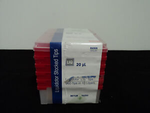 new Rainin Bioclean Liquidator Lts Tips 960 Tips In 10 Layers 20ul