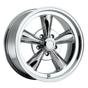 Vision Wheel Legend Series 15x8 5x5 Alum 1 Piece Chrome Each Wheel 141h5873c0