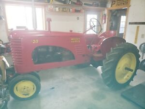 Massey Harris 20 Tractor Mh Rare Collector Tractor 2 Years Made In Racine Wi Usa