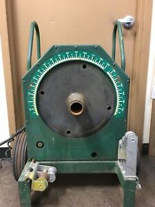 Greenlee 555 Bender 1 2 2 Inch Rigid Pipe Electric Bender Used