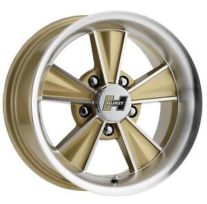Vision Wheel Hurst Dazzler Gloss Gold Machined Wheel Ht324 7961gmf45