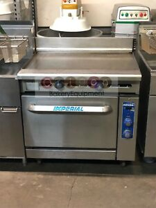 Imperial Commercial Restaurant Range 36 Griddle 1 Oven Nat Gas Model Ir g36t c