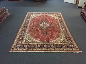 7x10 On Sale S Antique Hand Knotted Persian Tabrizz Rug Geometric Carpet 6 7x9 7