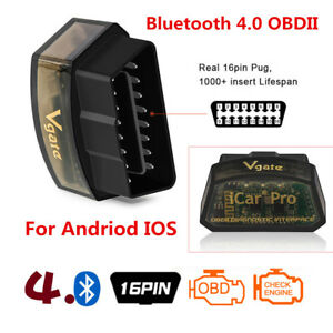 Auto Bluetooth Obd2 Scanner Code Reader Diagnose Obdii Andriod Ios Iphone Ipad