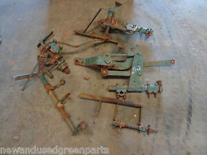 John Deere 40 420 430 Special V Cultivators With Fertilizer Attachment Rare