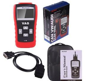 Autel Maxscan Vag405 Obd2 Eobd Can Bus Car Diagnostic Code Reader For Vw Audi