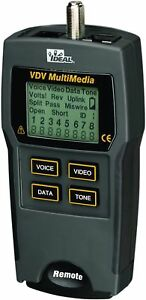 Ideal Networks 33 856 Vdv Multimedia Cable Tester