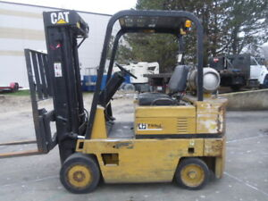 Used Cushion Forklift Cat T50dsa 5000 Cap