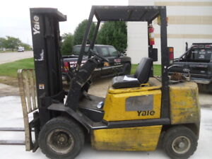 Used Pneumatic Forklift Yale Glp050 5000