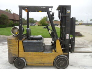 Used Cushion Forklift 1998 Cat Gc50 5000