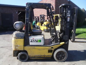Used Cushion Forklift Tcm Fgc25t7t 5000