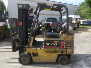 Used Cushion Forklift Daewoo Gc25s 2 5000