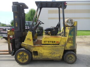 Used Cushion Forklift Hyster S80xl2bc 8000