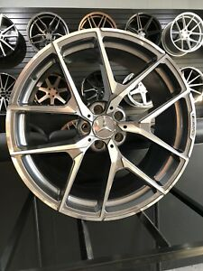 20x8 5 Grey Y Amg Style Rims Wheels Fits Mercedes Benz S430 S550 S500 S400
