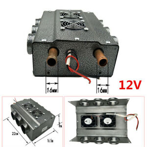 Universal Heater 12v 6 Port Car Truck Vintage Muscle Under Dash W Speed Switch