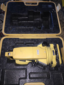 Topcon Dt 205 5 inch Durable Weatherproof Digital Theodolite 5 Second Advanced