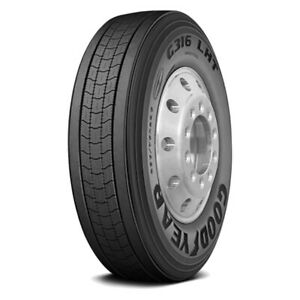 Goodyear G316 Lht St255 70r22 5 Load H 16 Ply Trailer Tire