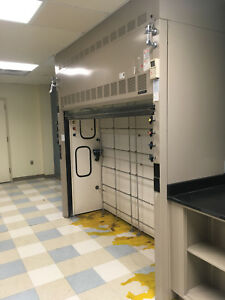 8 Fisher Hamilton Safeaire Large Walk In Fume Hood