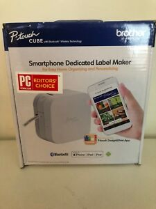 Brother P touch Cube Smartphone Label Maker Bluetooth Wireless Technology For