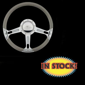 Billet Specialties 29244 Boost Select Edition Steering Wheel Polished 14